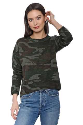 Rails Perci Jungle Camo Sweater