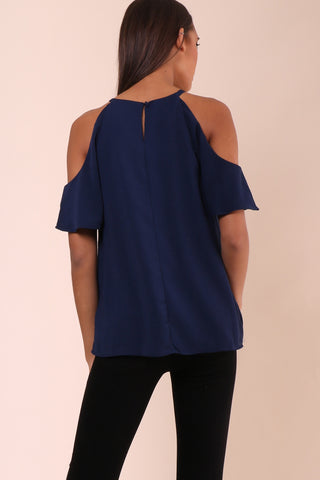 Decker Luciana Ruffle Top