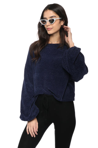 Fox + Hawk Chenille Sweater