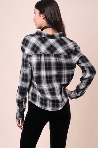 Rails Dylan Crop Button Up
