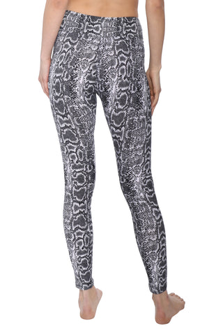 Suzette Yummy Grey Python Leggings