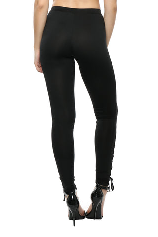 Brooklyn Karma Lace Up Leggings