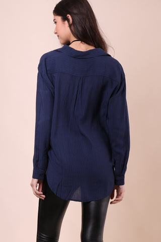Rails Elle Button Up - Midnight