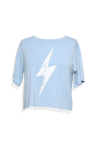 Sunday Stevens Lightening Bolt Tee
