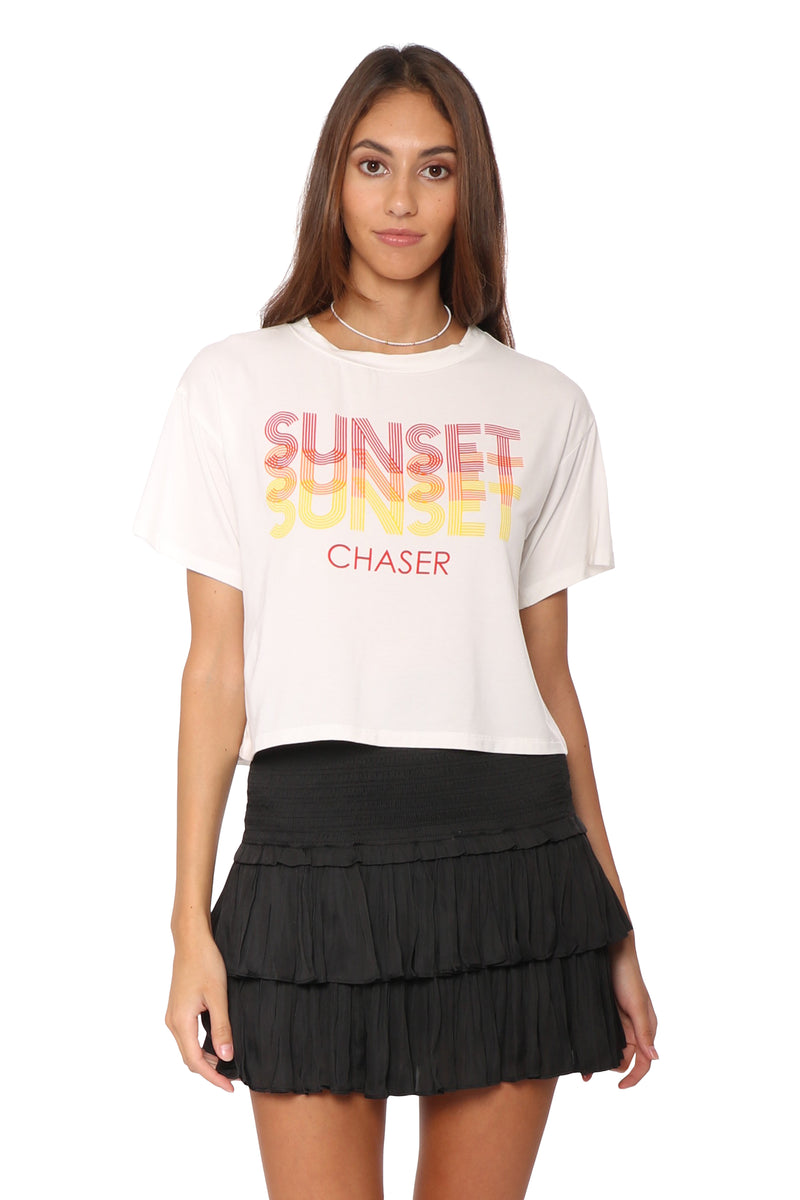 Sunday Stevens Sunset Chaser Tee