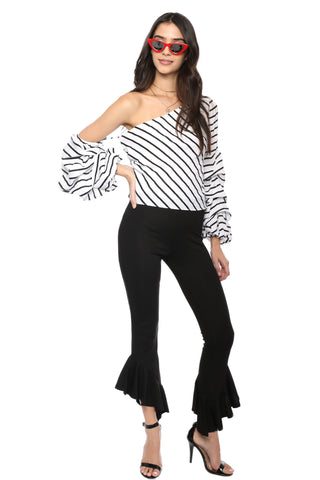 Decker Presley One Shoulder Top