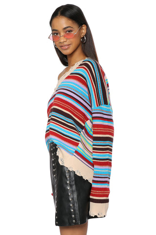 W.A.P.G. Raissa Stripe Sweater