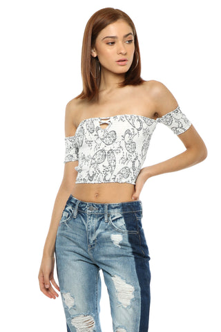 Darah Dahl Pretty Thing Crop Top