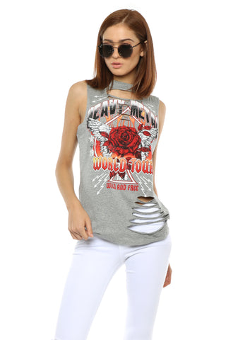 Jonathan Saint Heavy Metal Muscle Tee