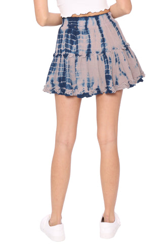Gab & Kate Salty Air Tie Dye Skirt