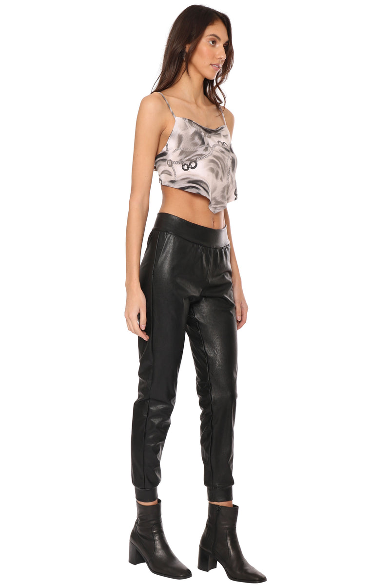 Chained Up Crop Top