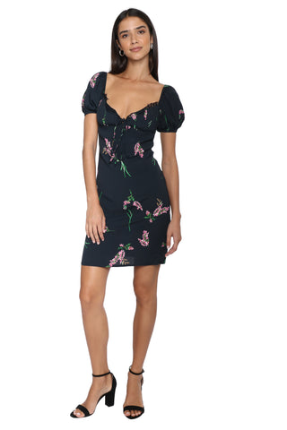 W.A.P.G. Endless Nights Floral Dress