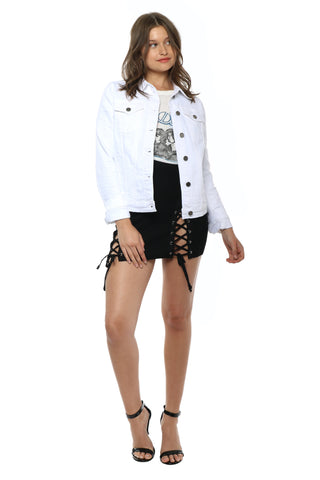 JBD White Denim Jacket