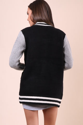 Brooklyn Karma Varsity Bomber Jacket