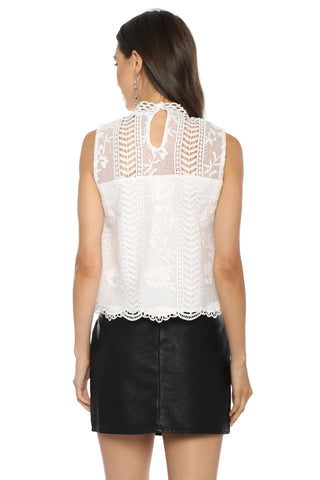 BB Dakota Mulholland Drive Lace Tank