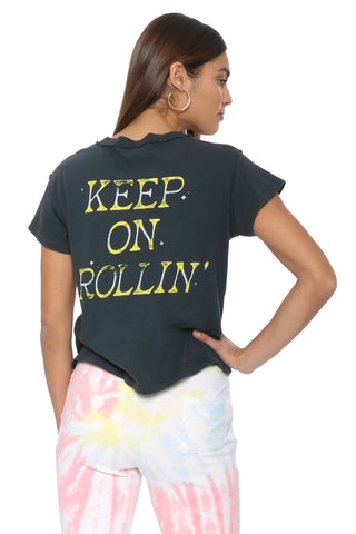 Daydreamer Keep on Rolling Reverse GF Tee