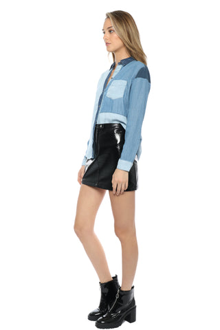 Rails Zoey Button Down - Color Block