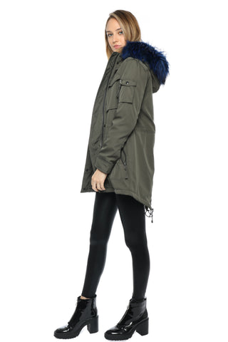 S13 Field Parka W/ Blue