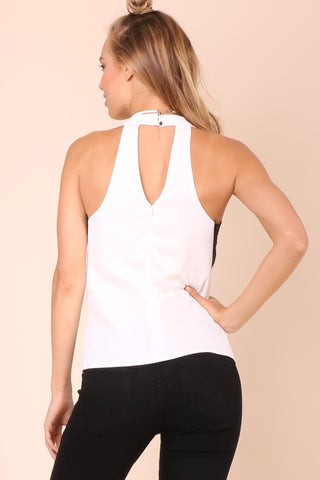 Decker First Love Top - White