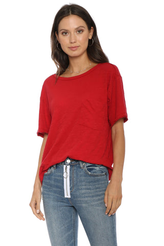 Jac Parker Crew Neck Pocket Tee