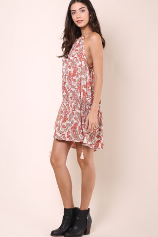 Show Me Your Mumu Lasso Dress - Paisley