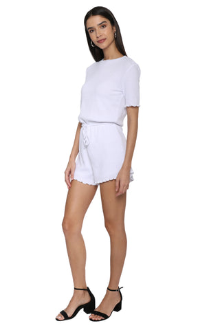 Gab & Kate Georgina Ribbed Romper
