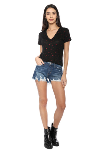 Flying Monkey H/R Distressed Shorts