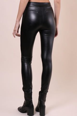 Brooklyn Karma Vegan Leather Leggings