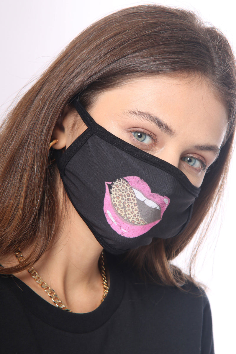 Nu Vintage Lip Face Mask
