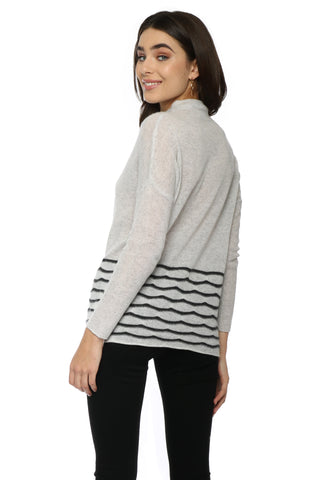Decker Luxe Mock Neck Pullover