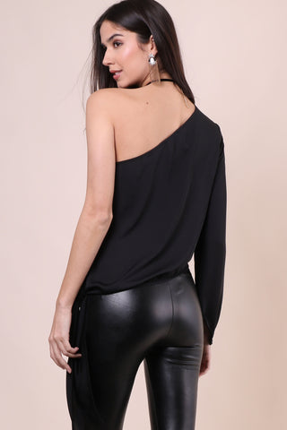L'Academie One Shoulder Top
