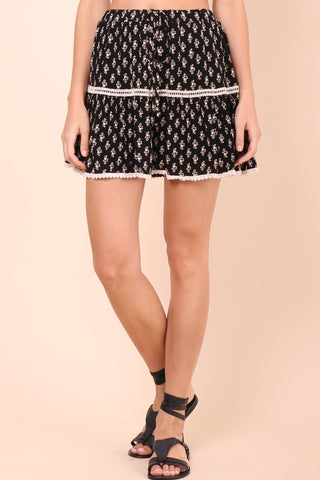 Gab & Kate Savannah Mini Skirt