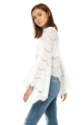 Gab & Kate Fly Free Lace Top