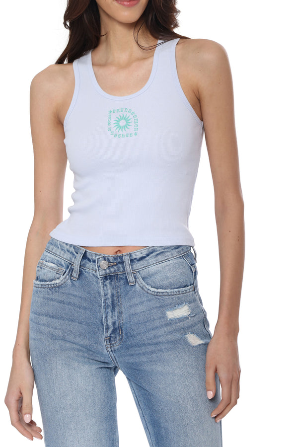 LA Eye Ribbed Tank