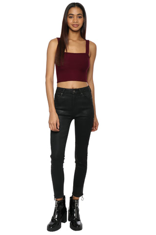 Gab & Kate Ribbed Crop Top