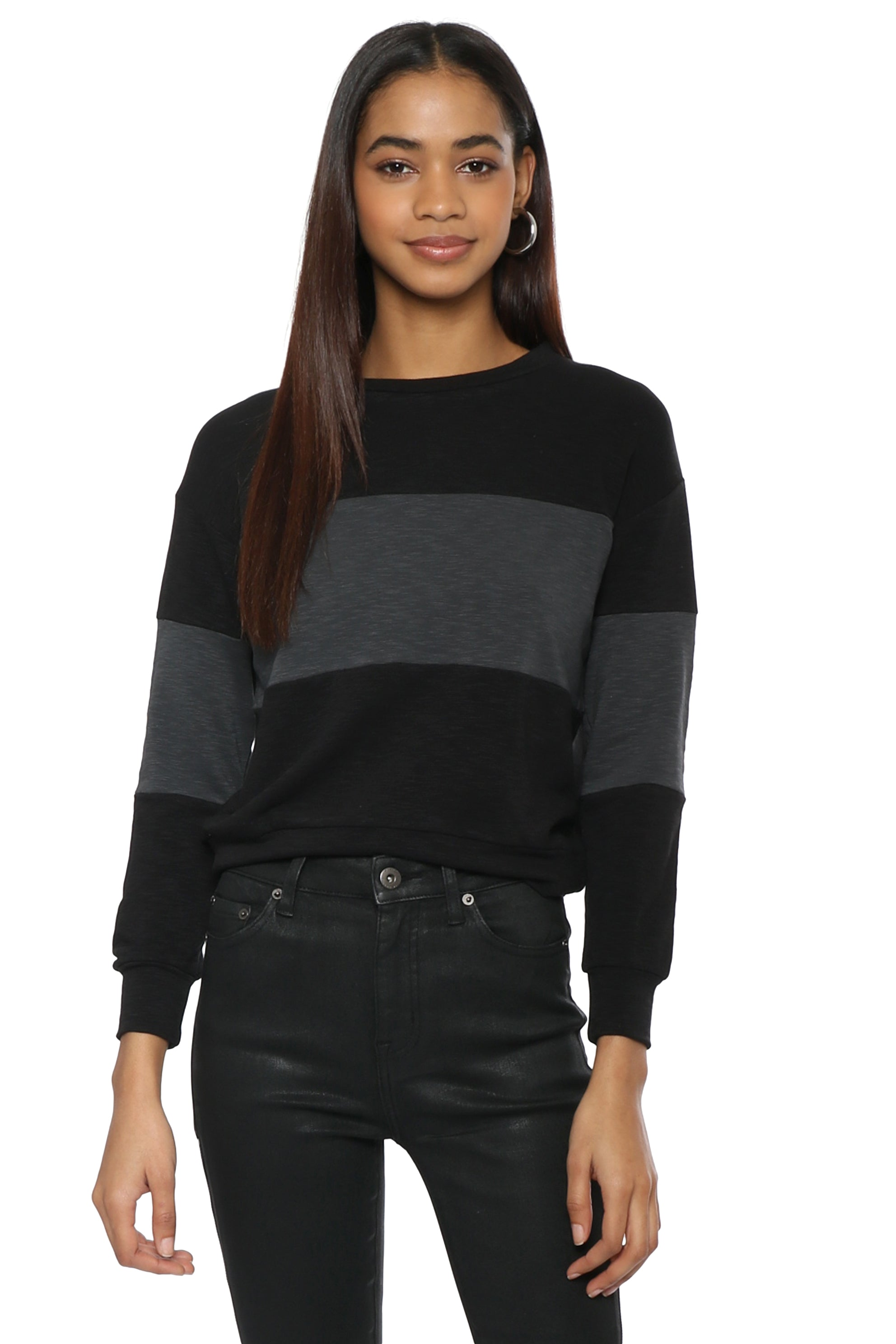 781736c76 Sunday Stevens Color Block Pullover