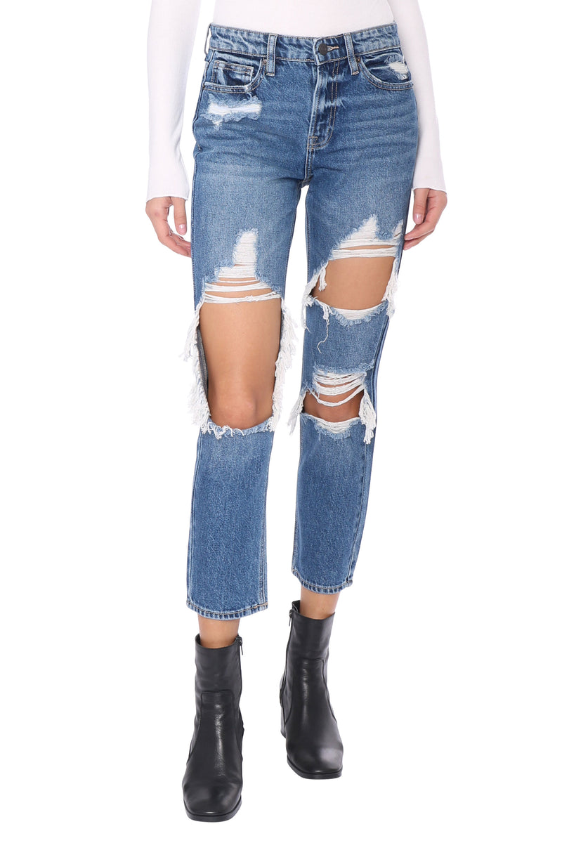 Dark Wash Bailey BF Jeans