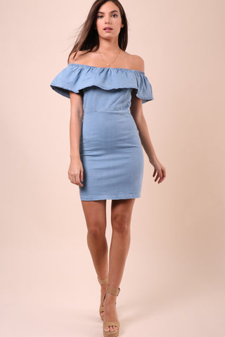 Bianca Esperanza Denim Dress