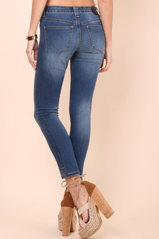 RES Denim Trash Queen Skinny Crop Jeans