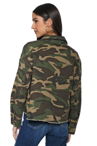 Brooklyn Karma Army Jacket