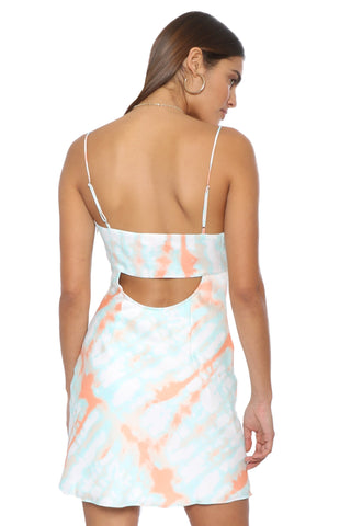 Robertson & Rodeo Bright Side Tie Dye Dress