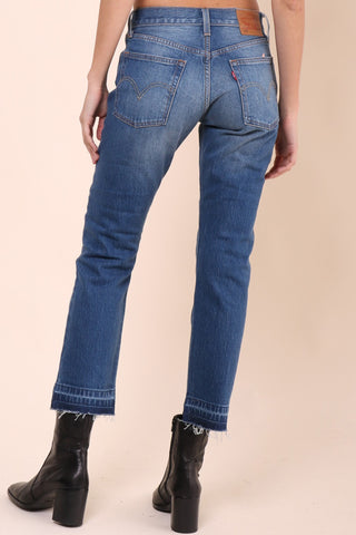 Levi's 501 Wear and Tear Premium Denim