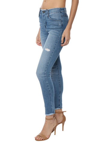 Flying Monkey HR Distressed Waistband Skinny