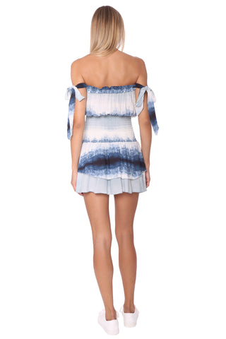 W.A.P.G. End of Summer Tie Dye Dress