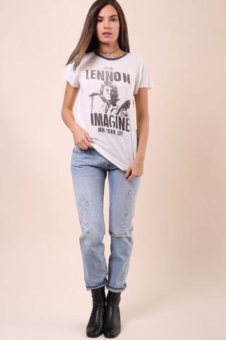 Junkfood John Lennon Imagine Tee