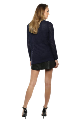 Jack By BB Dakota Dunning Waffle Sweater