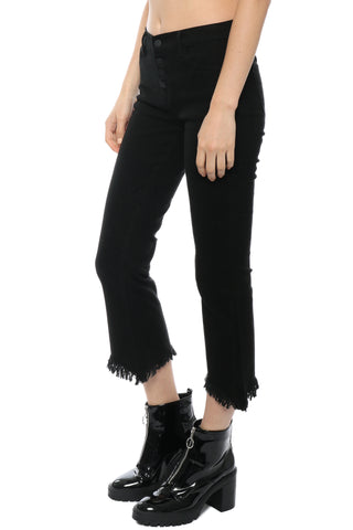 Moon River Black Fray Jeans