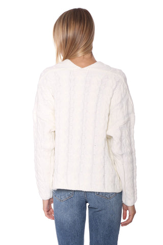 Fox + Hawk Toned Down Knit Sweater
