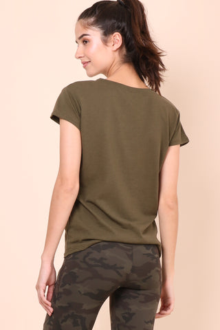 Fox + Hawk Rebel Rebel Tee - Olive