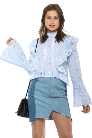 Gab & Kate Jules Embroidered Top